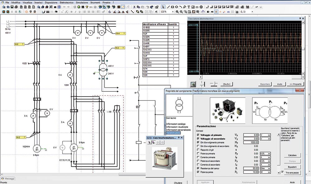 Design Simulation And Animation Software For The Study Of Electrical Engineering Elettronica Veneta S P A