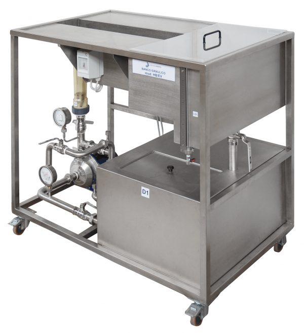 HB/EV - Banco Idraulico (vasche in acciaio inox)