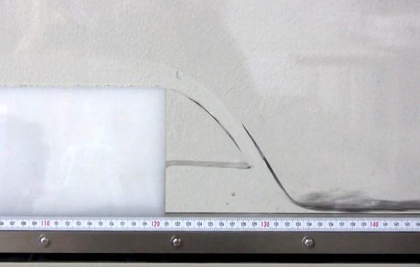 Sharp crested weir experiment