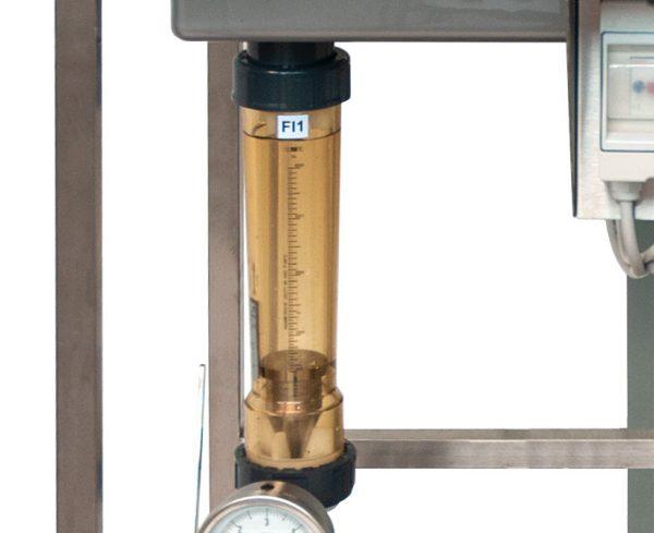 Banco idraulico - Flussimetro