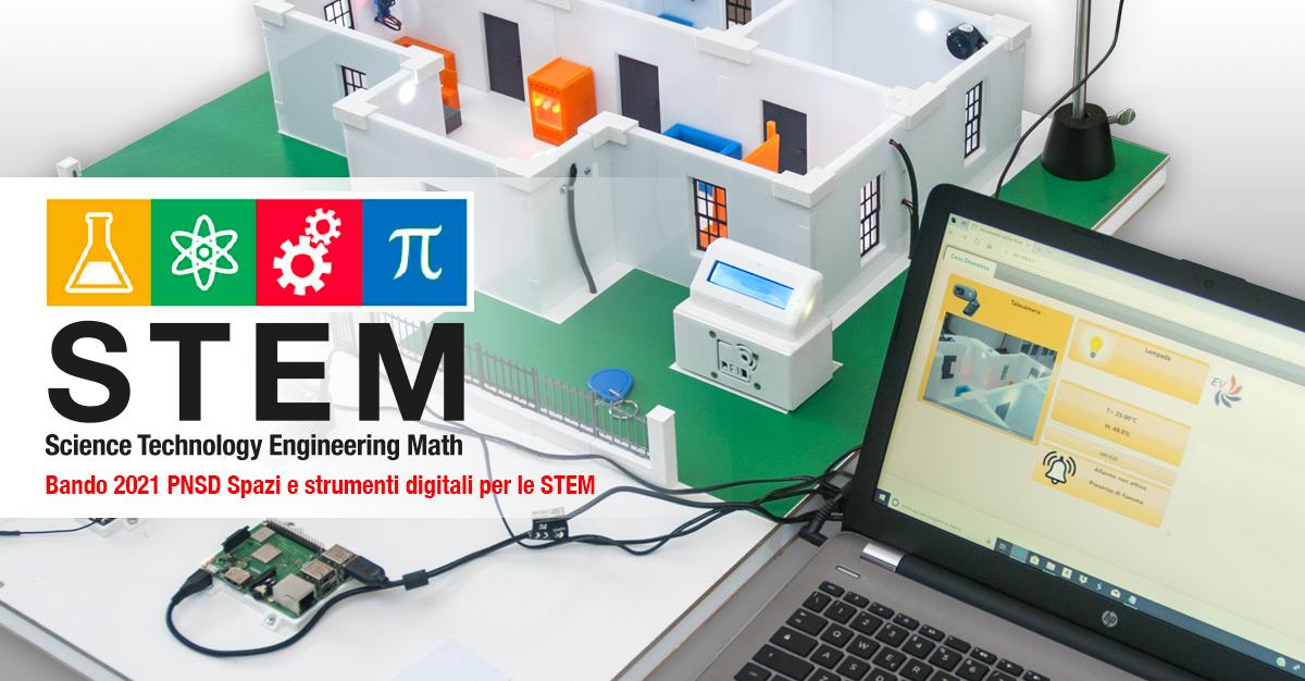 Bando scuole STEM 2021 spazi e strumenti digitali